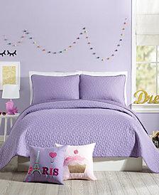 Urban Playground Coty Purple Full/Queen Quilt Set - 3 Piece