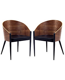 Modway Cooper Dining Chairs Set of 2