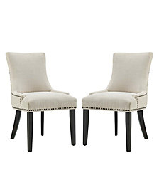 Modway Marquis Dining Side Chair Fabric Set of 2