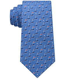 Cub Room Men's 18 Holes Silk Tie, Created for Macy's