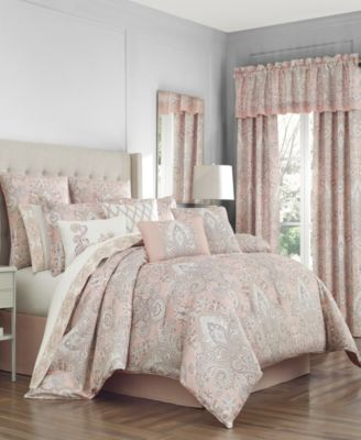 Sloane Blush Full Comforter Set