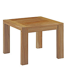 Modway Upland Outdoor Patio Wood Side Table