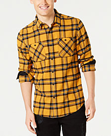 American Rag Men's Charlie Plaid Flannel Shirt, Created for Macy's