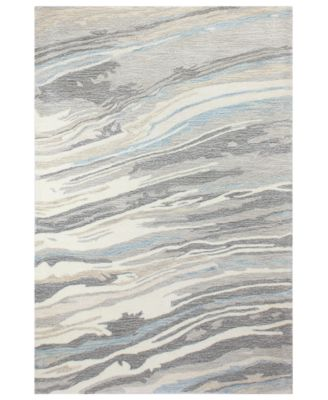 """Granite GR1 3'9"""" x 5'9"""" Area Rug, Created for Macy's"""