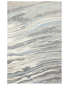 "Hotel Collection Granite GR1 3'9"" x 5'9"" Area Rug, Created for Macy's"