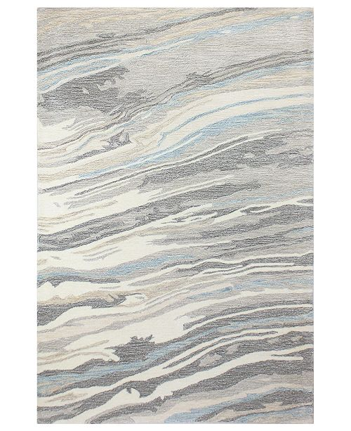 """Hotel Collection  CLOSEOUT!  Granite GR1 3'9"""" x 5'9"""" Area Rug, Created for Macy's"""