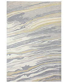 "Hotel Collection Granite GR1 5'6"" x 8'6"" Area Rug, Created for Macy's"