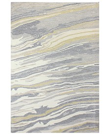 "CLOSEOUT!  Hotel Collection Granite GR1 5'6"" x 8'6"" Area Rug, Created for Macy's"