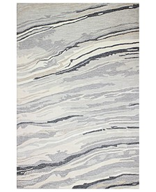 """CLOSEOUT! Granite GR1 7'9"""" x 9'9"""" Area Rug, Created for Macy's"""
