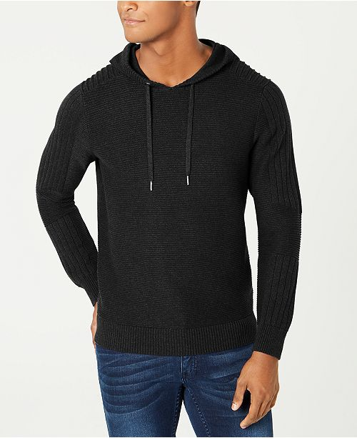 INC International Concepts INC Men's Hooded Sweater, Created for Macy's