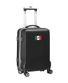 """21"""" Carry-On 100% ABS Hardcase Spinner Luggage - Mexico Flag"""