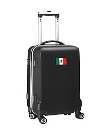 "21"" Carry-On Hardcase Spinner Luggage - Mexico Flag"