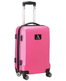 Luggage Carry-On 21-Inch Hardcase Spinner 100% ABS With Letter A