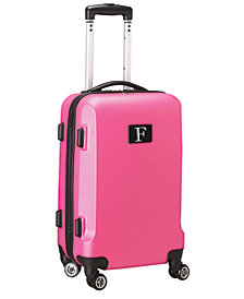 "21"" Carry-On Hardcase Spinner Luggage - 100% ABS With Letter F"