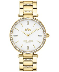 Women's Park Gold-Tone Stainless Steel Bracelet Watch 34mm