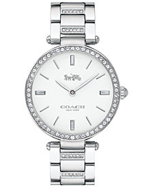 COACH Women's Park Stainless Steel Bracelet Watch 34mm