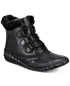 Sorel Women's Out N About Waterproof Plus Lux Booties