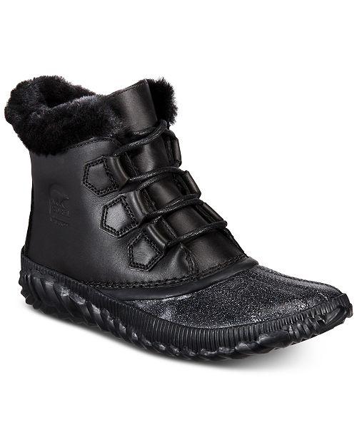 big sale 95ac1 8cbb7 ... Sorel Women s Out N About Waterproof Plus Lux Booties ...