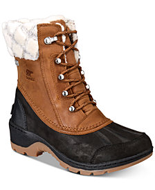 Sorel Women's Whistler Mid Waterproof Cold-Weather Boots