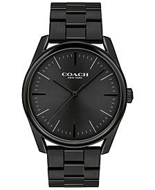 Men's Preston Black Stainless Steel Bracelet Watch 41mm
