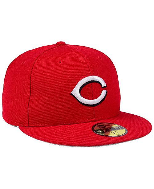 15ffa273e7de95 ... discount code for new era cincinnati reds retro classic 59fifty fitted  cap sports fan shop by