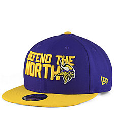 New Era Minnesota Vikings Draft Spotlight 9FIFTY Snapback Cap