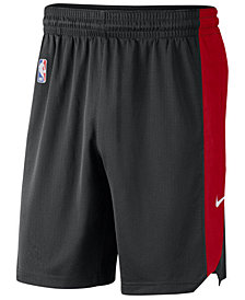 Nike Men's Chicago Bulls Practice Shorts