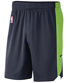 Nike Men's Minnesota Timberwolves Practice Shorts