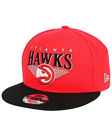 New Era Atlanta Hawks Retro Triangle 9FIFTY Snapback Cap