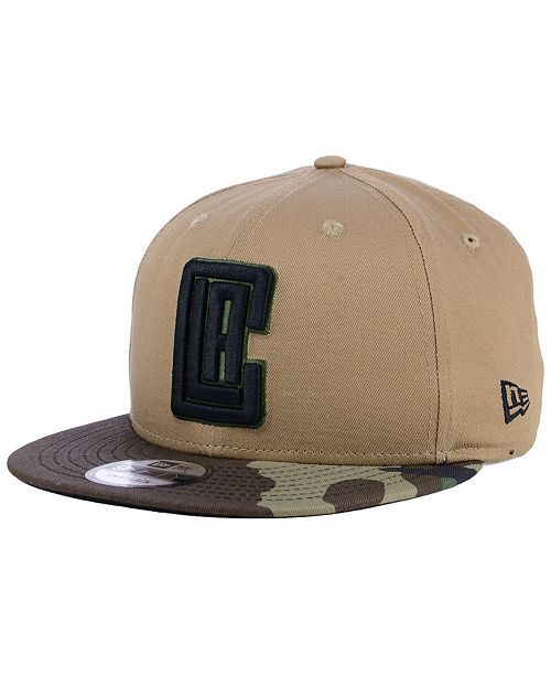 New Era Los Angeles Clippers Camo Tipping 9FIFTY Snapback Cap