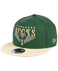 New Era Milwaukee Bucks Retro Triangle 9FIFTY Snapback Cap