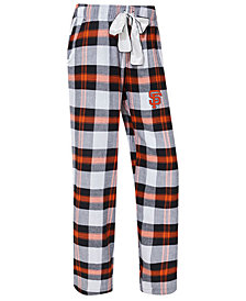 College Concepts Women's San Francisco Giants Headway Flannel Pajama Pants