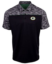 fd8be50bf Authentic NFL Apparel Men s Green Bay Packers Final Play Polo