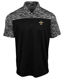 Authentic NFL Apparel Men's New Orleans Saints Final Play Polo