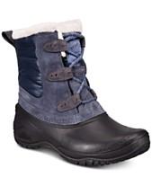 c4541d0589e85a The North Face Women's Shellista Shorty Waterproof Winter Boots