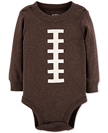 Carter's Baby Boys Football-Print Cotton Bodysuit