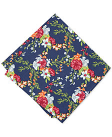 Bar III Men's Kearny Floral Pocket Square, Created for Macy's