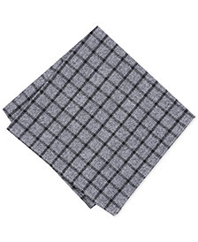 Bar III Men's Bloomfield Check Pocket Square, Created for Macy's