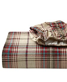 King Plaid Flannel Sheet Set