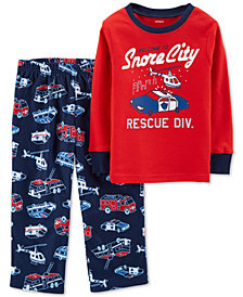 Carter's Toddler Boys 2-Pc. Pajamas Set