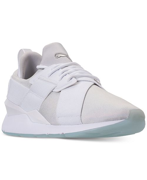 73a3168b0b6 Puma Women s Muse Ice Casual Sneakers from Finish Line   Reviews ...