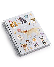 Chasing Baxter Pup Spiral Notebook