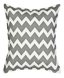 Chevron Cotton Canvas Pillow
