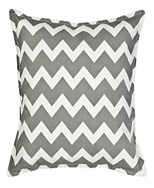 Chevron Cotton Canvas Pillow
