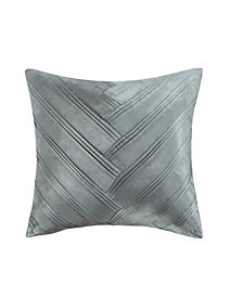 "Vince Camuto Lille V Pleat 16"" Square Pillow"