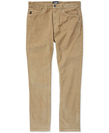 Billabong Toddler Boys Outsider Corduroy Pants