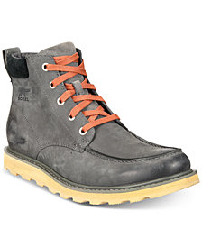 Sorel Men's Madson Waterproof Moc-Toe Boots
