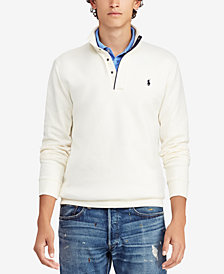 Polo Ralph Lauren Men's Double-Knit Half-Zip Pullover