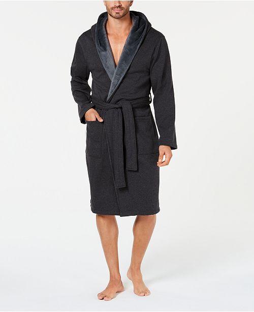 3266a18db95 UGG® Men's Brunswick Hooded Robe & Reviews - Pajamas, Lounge ...