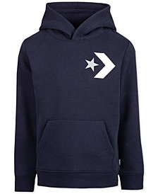 Converse Big Boys Star Chevron Hoodie
